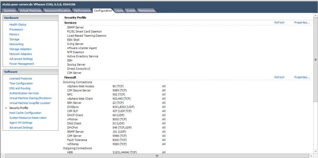 آموزش فعال سازی SSH در VMware
